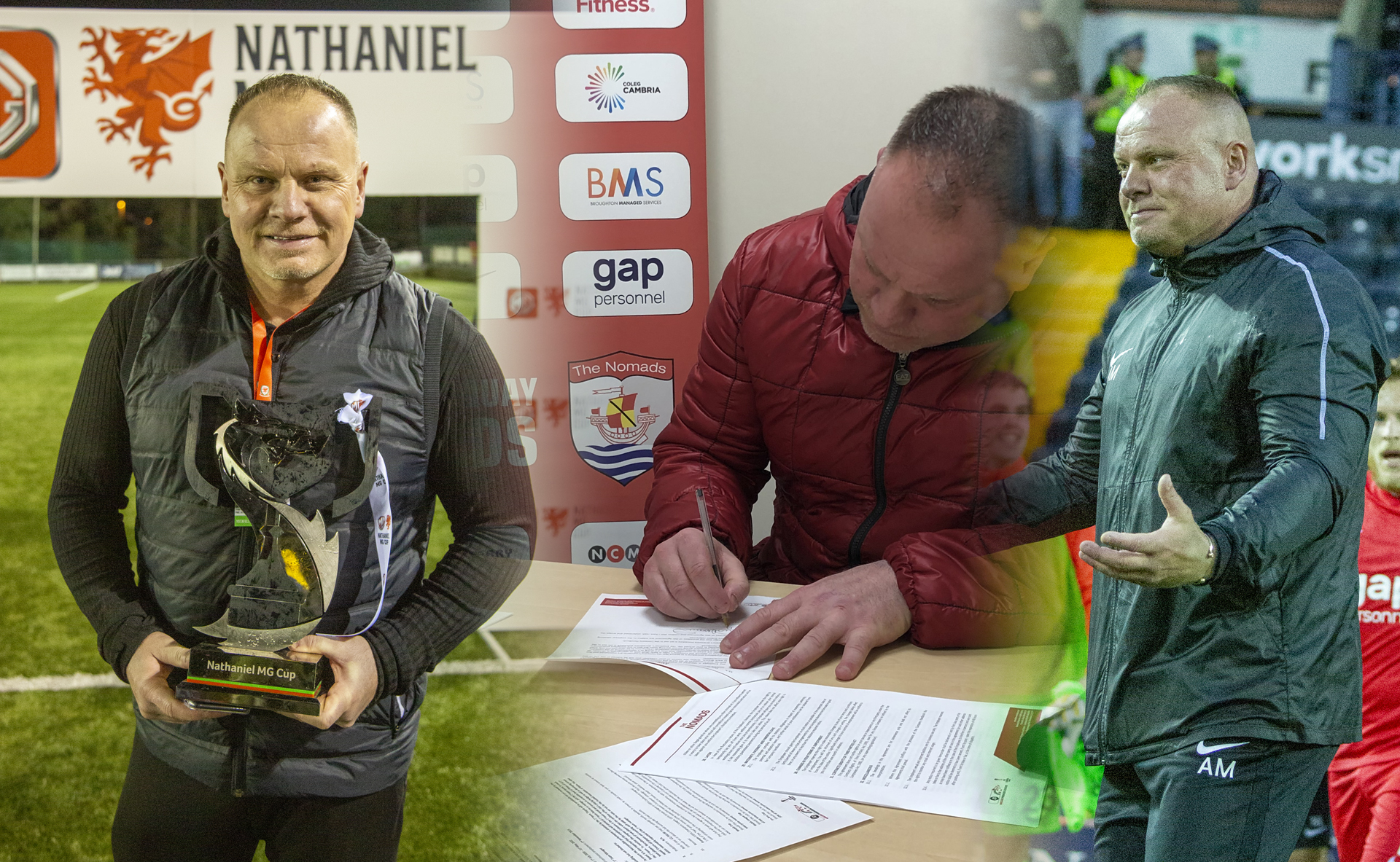 Andy Morrison has signed a new contract with Connah's Quay Nomads until the end of the 2021/22 season.