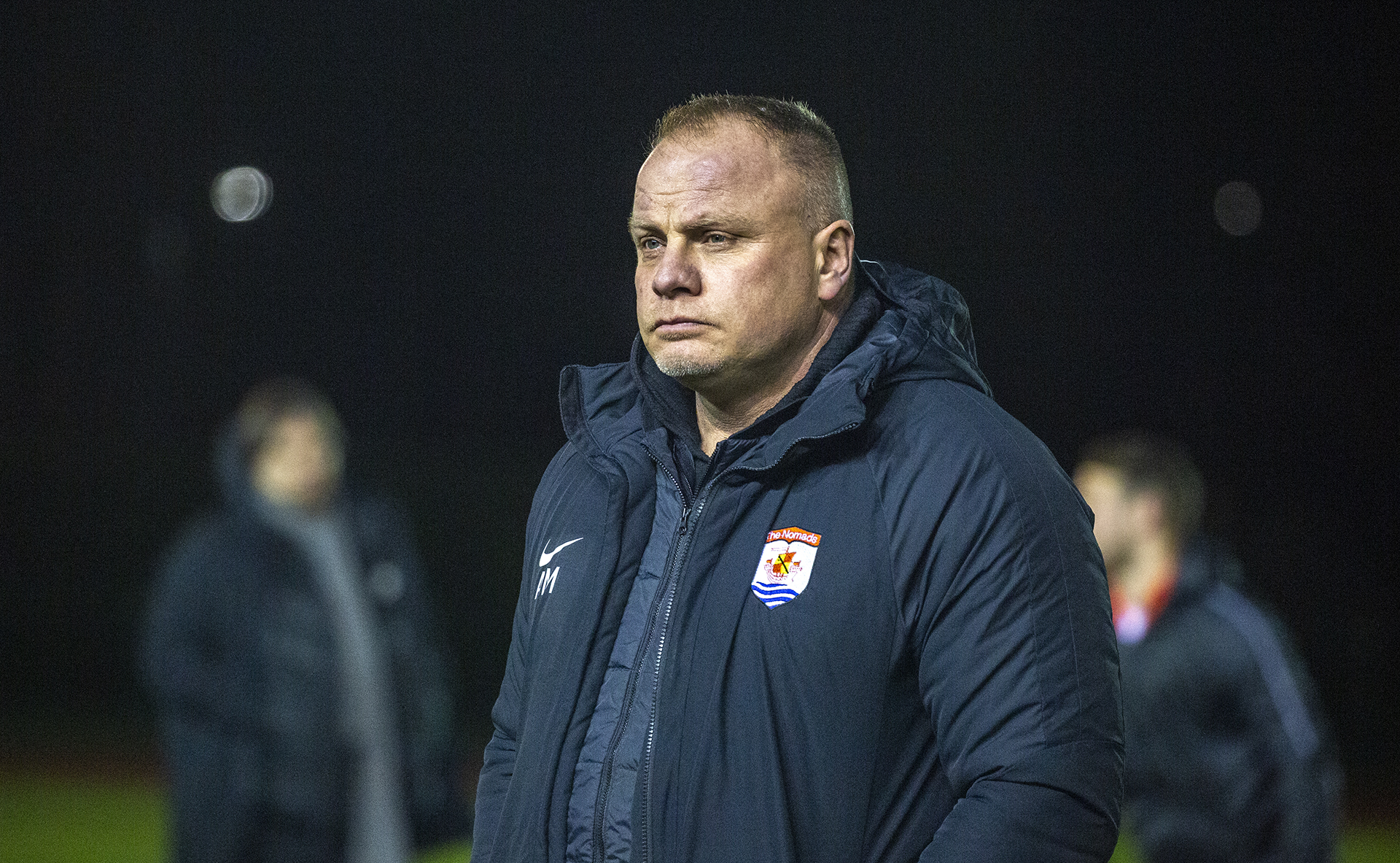 Andy Morrison looks forward to the visit of TNS | © NCM Media