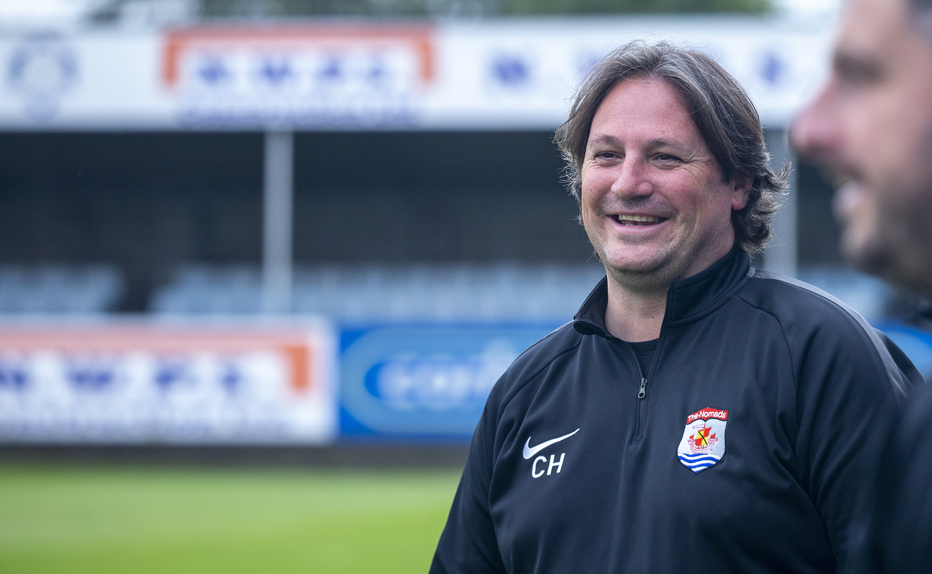 Craig Harrison has extended his stay at Connah's Quay Nomads | © NCM Media