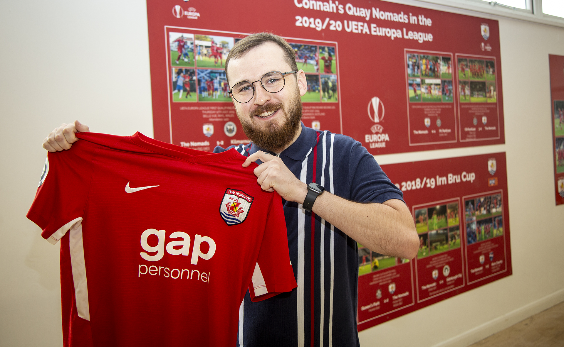 Jack Sargeant has joined the Connah's Quay Nomads board