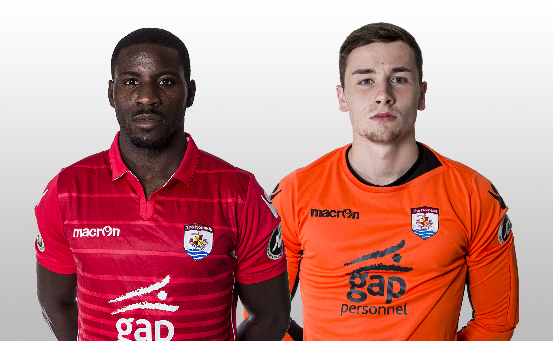 Michael Bakare and Rhys Williams have both extended their contracts at Connah's Quay Nomads