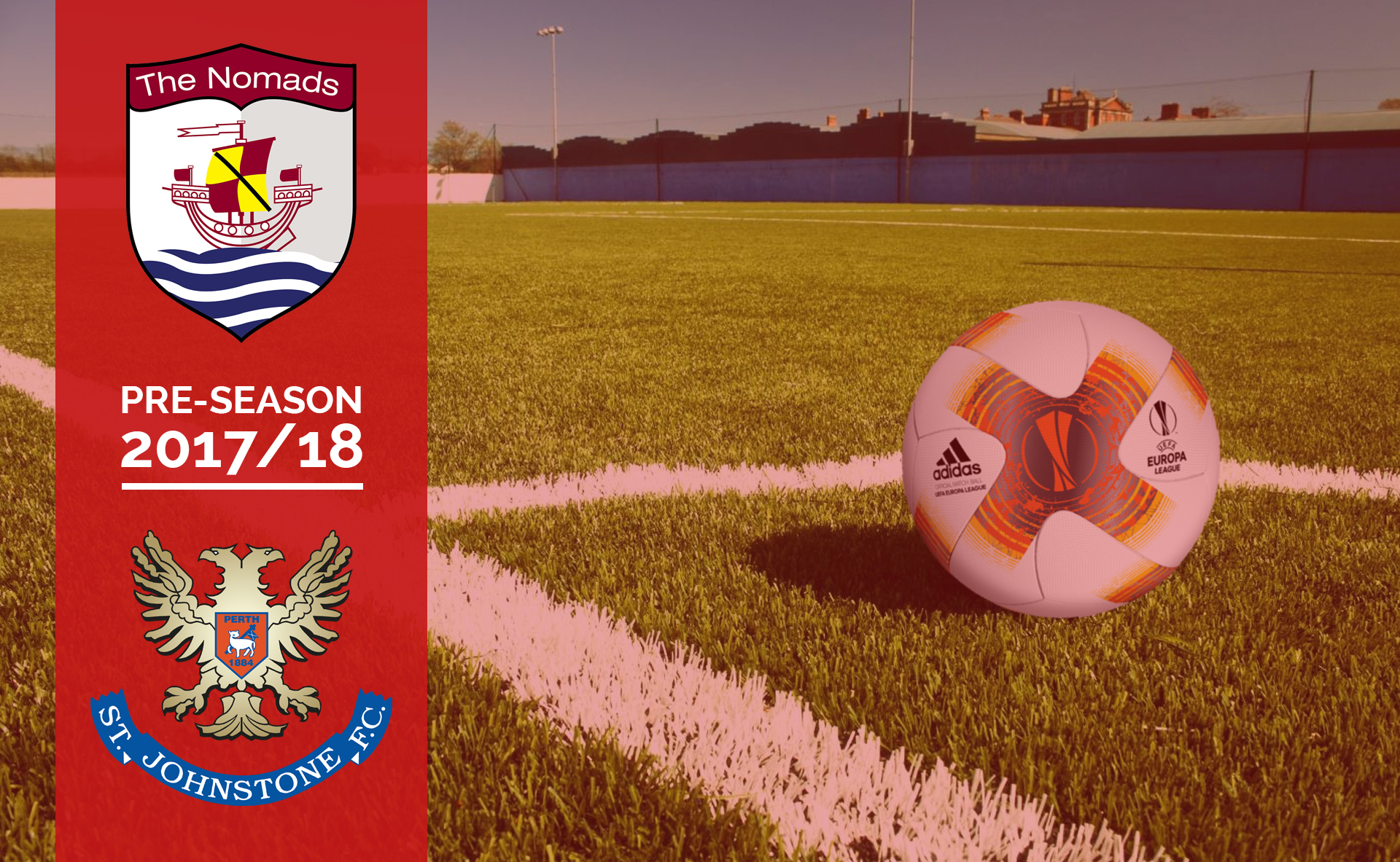 Connah's Quay Nomads will face Scottish Premier League side, St Johnstone on Saturday 24th June.
